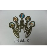 # Lot #AA 118- 5 Beautiful bookmarks NEW hand set  various styles jewelry<> - $7.08