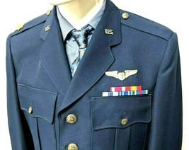 US Air Force USAF Blue Service Jacket Coat 41 Pants 32x31 Flight Surgeon Major - $111.27