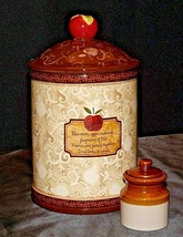 Cookie Jar and little car with lid AA20-7067 Vintage