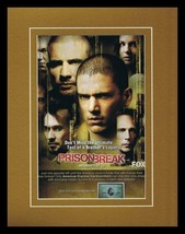 Prison Break 2007 Fox 11x14 Framed ORIGINAL Vintage Advertisement - $32.36