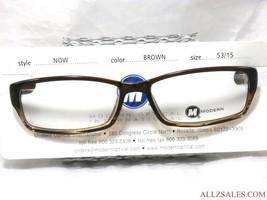 Modern Optical NOW Unisex Prescription Eyeglasses Frame, Brown 53-15-140... - $34.60
