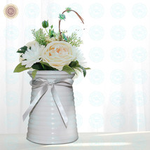 WR Porcelain Flower Vase Set Items for Home Decoration Gift for Women - $14.25+