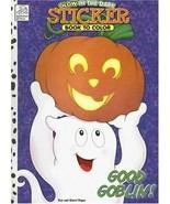 Good Goblin!: Glow in the Dark Sticker Book to Color Paperback Book - $5.93
