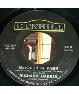 45 RPM Richard Harris Macarthur Park Didn'T We Dunhill Vinilo, Manga 4134 NM GD - $19.33