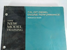 1994 Ford 7.3L Diesel Engine Performance New Model Training Service Manual Set - $13.82