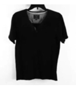 Guess Black Short Sleeve Tunic T-Shirt Top Size M - $8.99