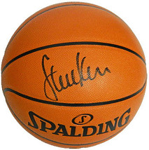 Steve Kerr signed Spalding NBA I/O Game Series Replica Basketball (Black... - $123.95