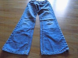 Girl's Size 8 Regular Gap Kids Bootcut Boot Cut Denim Blue Jeans Used - $12.00