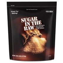 Sugar In The Raw Turbinado Cane Sugar, 6 lbs. - $15.75