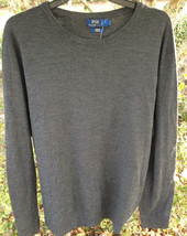 $295 Polo Ralph Lauren Men's Grey Sweater Size: XXL - $94.04