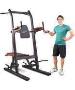 HARISON Multifunction Power Tower Pull Up Dip Station with Bench Adjustable Heig - $689.00