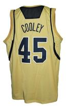 Jack Cooley #45 College Basketball Jersey Sewn Gold Any Size image 2