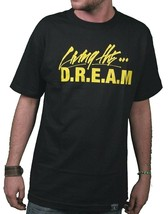 Dissizit! Living The D.R.E.A.M. Debt Rules Everything Money Black Yellow T-Shirt image 1