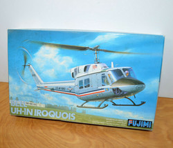 Vintage FUJIMI BELL UH-1N IROQUOIS Model Kit Helicopter Military USAF 1/... - $25.82