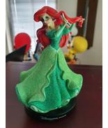 Extremely Rare! Walt Disney The Little Mermaid Ariel Paris Figurine Statue  - $267.30
