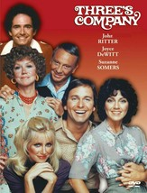 THREE'S COMPANY (FULL CAST) POSTER 24 X 36 INCH AWESOME! - $19.79