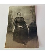 Cabinet card photograph antique ephemera photo picture vtg 1800s woman mother VA - $16.34