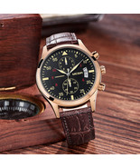 MEGIR ML2021G Men Watch Multifunction Chronograph Quartz Watch Complete ... - $42.29