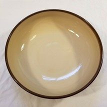 Sango Nova Brown 4933 Large Serving Bowl About 9 1/2 Inches Wide 3 Inches Tall - $19.79