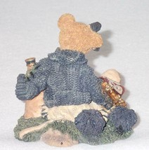 Boyd Bearstone Resin Bears 1995 Bailey The Cheerleader Figurine #2268 31E NEW image 2