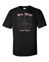 San Diego T-Shirt Flag California CA USA Seal Palms Beach Surf Summer Me... - $23.74+