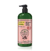 Nature's Spirit Castor Oil Conditioner 33.8 oz. (Pack of 3) - $40.58