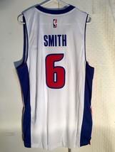 Adidas Swingman 2015-16 NBA Jersey Detroit Pistons Josh Smith White sz L - $19.79