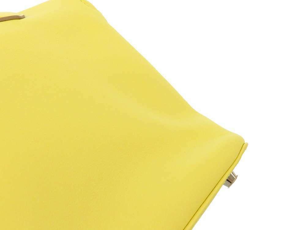 HERMES Toolbox 26 Veau Swift Soufre Handbag Shoulder Bag France #Q Authentic image 6