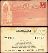 American Baptist Publication Society F & B 1903 Advertising Cover - Stua... - $80.00