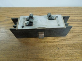 Westinghouse Multi-Breaker 3 Pole Unit 2-15A & 1-20A 1p (Mounting Tab Down) Used - $150.00