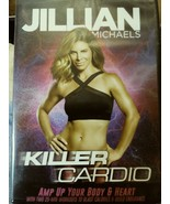 Jillian Killer Cardio DVD Amp Up Your Body and Heart (2) 25 minute workouts - $5.69