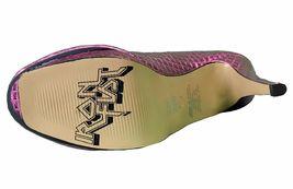 Iron Fist Women's Pink Studs Number of the Beast High Heels Platform Shoes NIB image 7