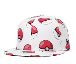 New Era Pokemon collaboration cap 59FIFTY Monster Ball White - $90.99