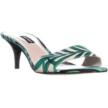 Nine West Lynton Slide Dress Sandals, Pink Multi, 11 US - $33.59