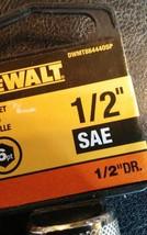 "New DeWalt 1/2"" Drive SAE 6-point Socket 1/2""  DWMT864440SP image 2"
