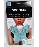 Casabella Water Block Premium Gloves Large Blue - $12.24