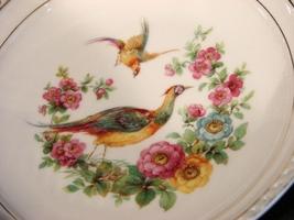 Bavaria Germany  Porcelain  Pheasant Game Bird Plate - $7.90
