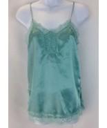 Mimi Chica Womens Sexy Side Split Seafoam Green Cami Size XS - $17.77