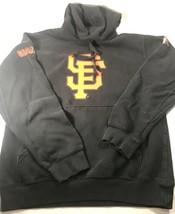 San Francisco Giants Sweatshirt Sewell Black Hoodie MLB Sport Shirt Sz S - $22.28