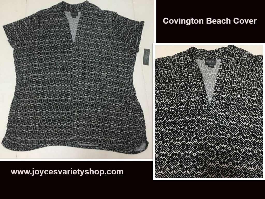 Covington beach blouse web collage
