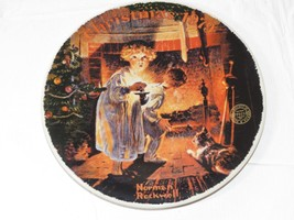 Christmas 1979 Norman Rockwell Somebody's Up There Knowles Plate ~ - $29.69