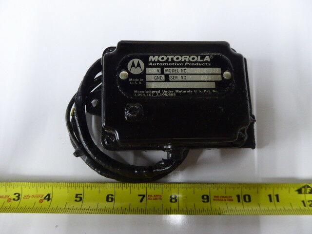 TVR24-34G Motorola Automotive Regulator Engine Generator New