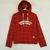 G Star Raw Womens Red Lynaz Hoodie Jumper Sweatshirt Size S Uniform of t... - $55.78
