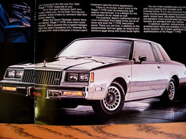 1983 Buick T-Type Brochure Regal Riviera Century - $8.52