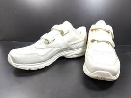 Reebok Walking Shoes Men's Sz 13 M Ivory Leather Uppers (tu39) - $20.00