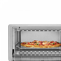 Stainless Steel Countertop Toaster Oven 4-Slice Baking Cooking Pizza Mak... - $42.46