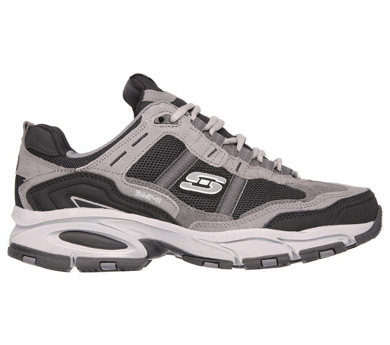 Skechers Wide Width shoes Men's Memory Foam Sport Comfort Sneaker 51241 EW CCBK