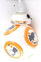 Disney Star Wars BB-8 BB8 Last Jedi Hallmark Blown Glass Christmas Xmas Ornament