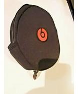 Beats By Dr Dre Headphones Zip Carrying Soft Bag Pouch Zipper Case NO HE... - $9.69