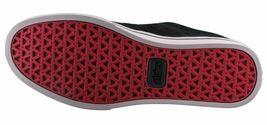 Etnies Hommes Noir/ Fauve / Rouge Cuir Daim Jameson 2 Basse Skateboard Shoes NW image 8